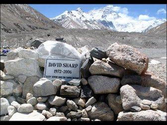 Everest - David Sharp Grave